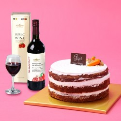 Gigi's Hand made Carrot cake with Wine 750ml (HHC46081)