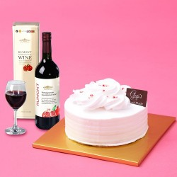 Gigi's Hand made Scarlett's Red Velvet with Wine 750ml (HHC46142)