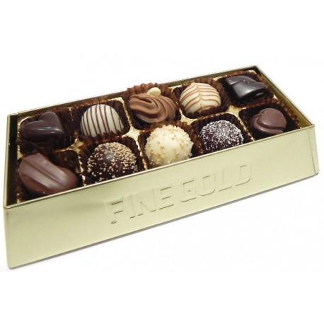 Rich Gold Bar 10 Chocolates (1802262)