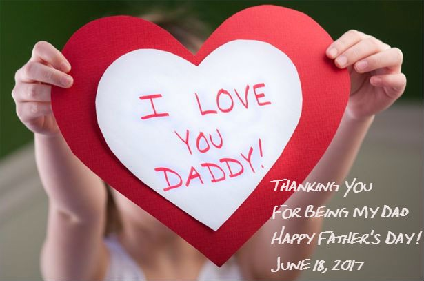 Wears a love of Father, Time to say I love you!