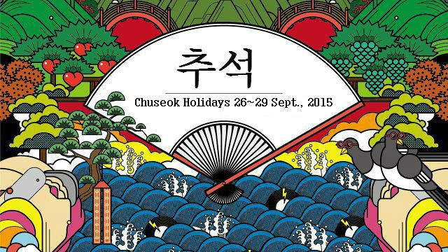 You can send Chuseok holidays gifts to some one in South Korea.