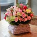 A pink basket (15042401)