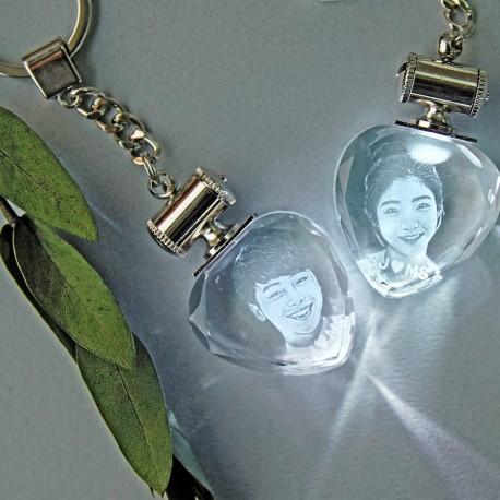 LED Heart Key Couple (170704)