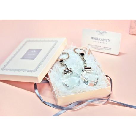 LED Heart Key couple gift set (170703)