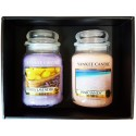 Yankee Candle 2 Large Jar Gift set