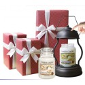 Yankee Candle 2 Large Jar + Candle Warmer Gift set