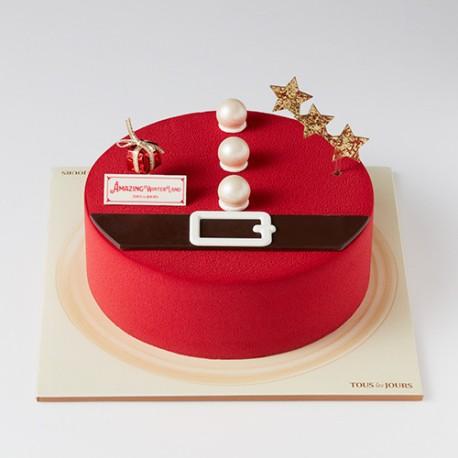 Red Santa Chocolat (HAL50070)
