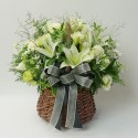 [N18] Memorial flower basket (18122705)