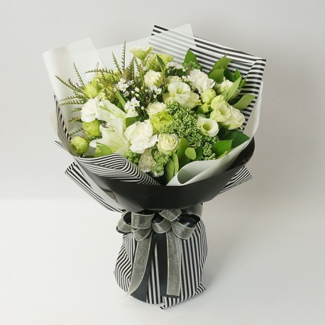 [N18] Memorial flower Bouquet B (18122717)