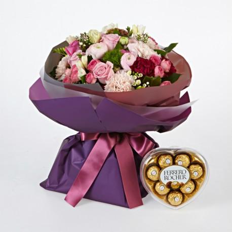 Pink Blossoms + FERRERO ROCHER (1602233)