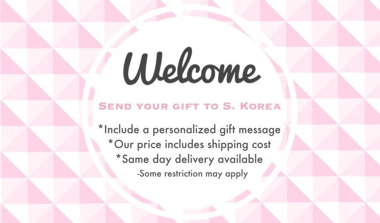 You can send gifts to someone in S. Korea.