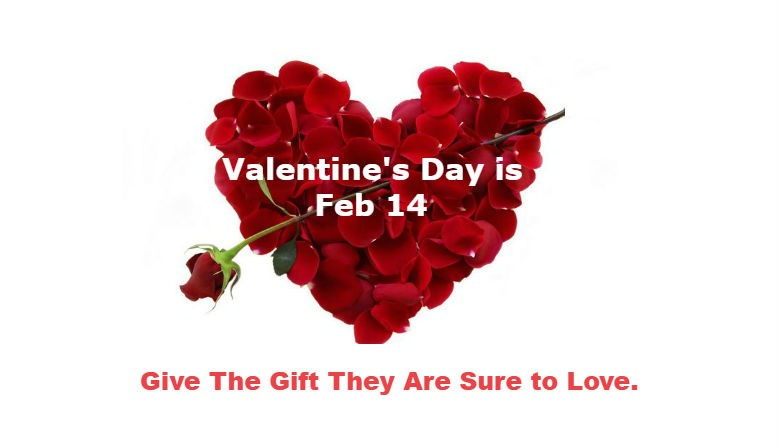 Time to order for Valentine's Day gifts to Some one in South Korea.